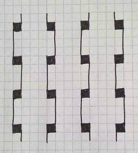Zentangle Anleitung Gegen Stress Einfaches Zentangle Muster