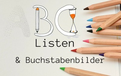 Kreative Booster: ABC-Liste und Buchstabenbilder