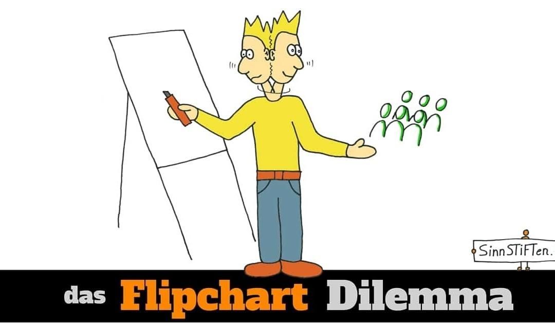 7 Wege aus dem Flipchart-Dilemma: Nie mehr hin- und hergerissen