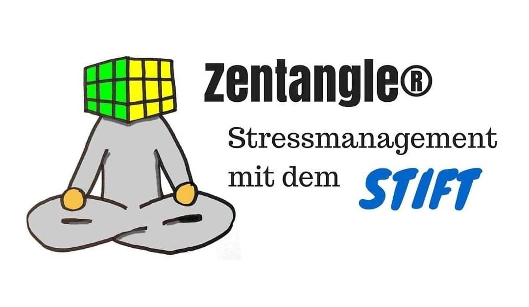 Zentangle Anleitung gegen Stress