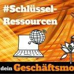 Schlüssel-Ressourcen zeichnen und Fähigkeiten-Liste erstellen