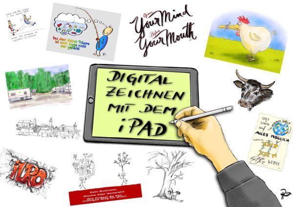 Digital Zeichnen am ipad pro