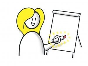 SinnSTIFTen Online Kurs - Flipchart - Zeichnen