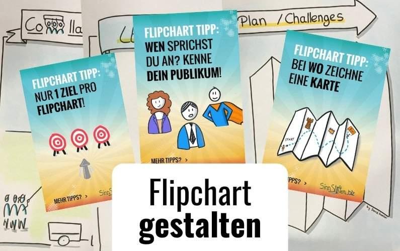 Flipchart gestalten Gestaltung Design
