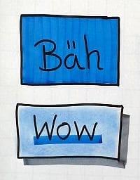 beim Flipchart zeichnen nie mit Flipchart Markern ausmalen
