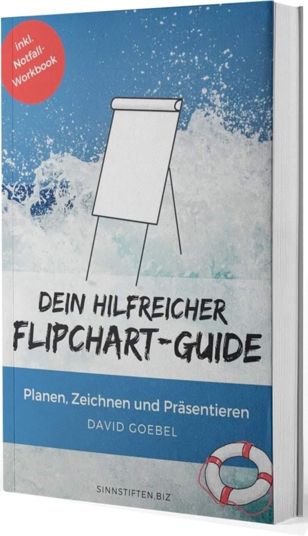Produktbild ebook dein hilfreicher flipchart Guide-Cover - Flipchart gestalten