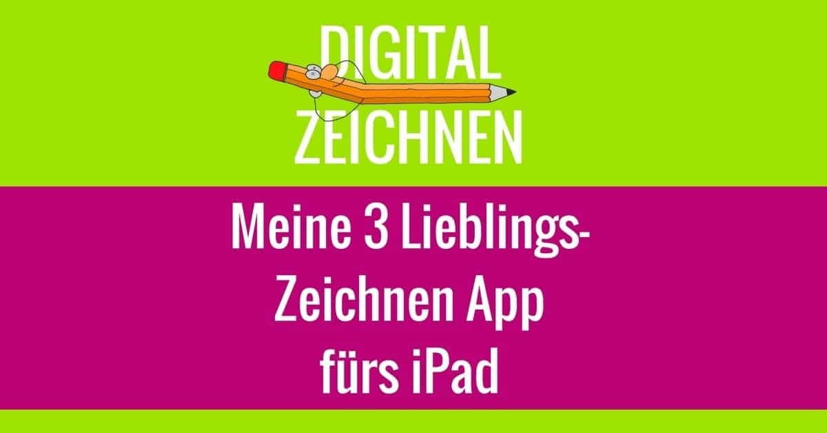 Zeichnen App für iPad Tablet - Digital Zeichnen