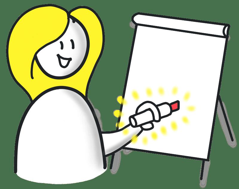 Online Flipchart Kurs SinnSTIFTen