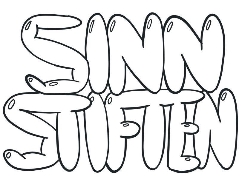 Buchstaben zeichnen » in 6 Schritten einen Bubble Text zeichnen 4