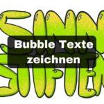 Wie du in 6 Schritten einen Bubble Text zeichnen kannst