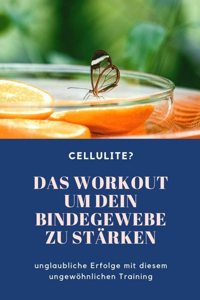 Bindegewebe stärken Cellulite Winkearm