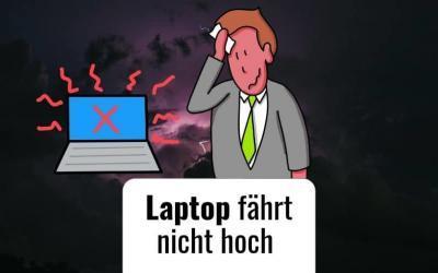 Laptop fährt nicht hoch – Trotzdem kein Fiasko dank Flipchart