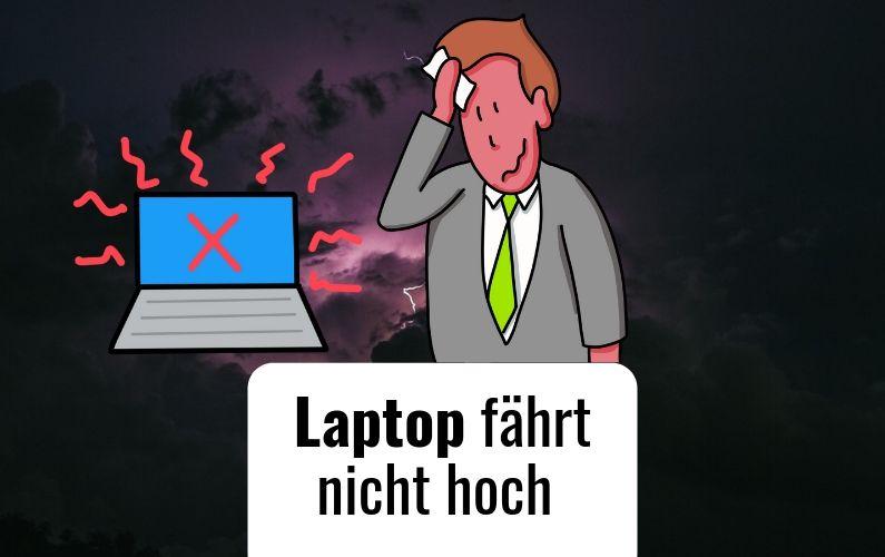 Laptop fährt nicht hoch - trotzdem kein Fiasko dank Flipchart