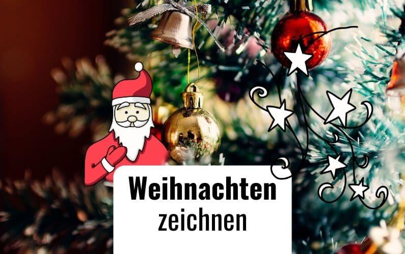 Flipchart Symbole Weihnachten Zeichnen
