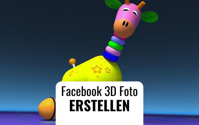 Facebook 3D Foto erstellen