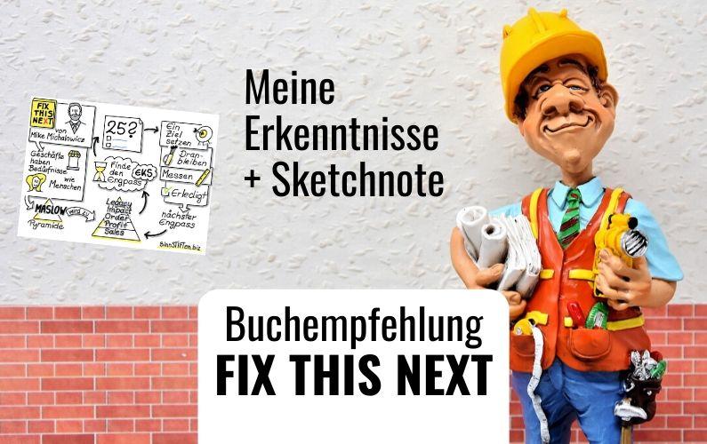 Fix This Next - Buchempfehlung